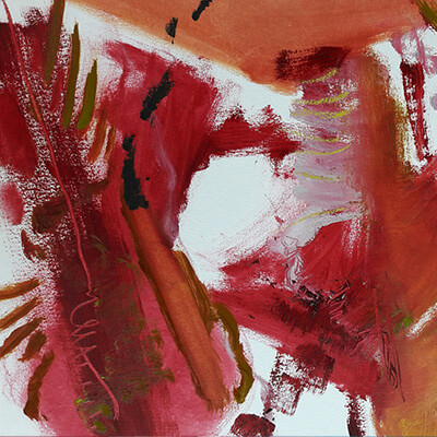 New paintings: Red touch